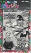 Dare 2B Artzy Witches Spell (S12062) Clear Cling Rubber Stamps