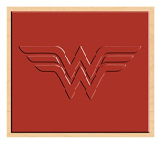 Rubber Stamp DC Comics Originals Wonder Woman Logo Rubber Stamp