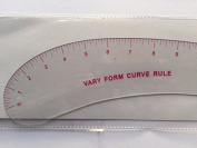 Inch Vary Form Curve Rule , Flexible ,46cm