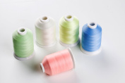 Sinbel Glow In The Dark Embroidery Thread For Brother Babylock Janome Singer Pfaff Husqvaran Bernina Machines 1000 Yards Per Cone