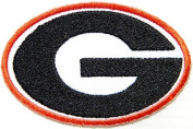 Georgia Bulldogs NCAA Football Logo Sign Patch Iron on Applique Embroidered Sew