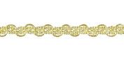Belagio Enterprises 1.6cm Metallic Braid Trim 25 Yards, Gold