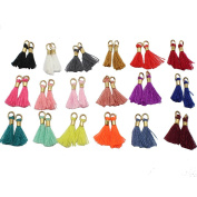 "Wholesale 36pcs/lot 13mm(1/2"") Mini Tassels Tiny Short Cotton Thread Tassels GD36ST139"
