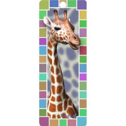 Giraffe, 3-D Bookmark with Tassel