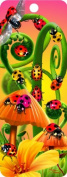 Lady Bugs, 3-D Bookmark with Tassel