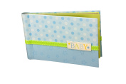 """Baby Photo Album 4 x 6 Brag Book """"Lil' Star"""" - Boy / Girl Baby Shower Gifts, - Holds 24 Precious Photos, Acid-free Pages"""