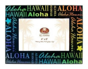 Aloha Hawaii Glass Picture Frame 10cm X 15cm
