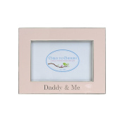 Child to Cherish Daddy & Me Enamelled Frame, Pink