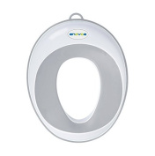 Enovoe Potty Seat for Toilet with .  Gift | Great for Training Boys or Girls | Comfortable and Portable for Travel with Hook