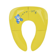 Folding Potty Seat,Isport Foldable Travel Potty Seat for Babies Toddlers Infants Kids Potty Seat Yellow