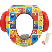 Colourful Sesame Street Soft Potty Seat with Potty Hook