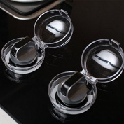 Eudemon Clear 4pack Safety Children Kitchen Stove Gas Knob Covers
