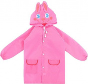 Tekka Fun Waterproof Raincoat Jacket For Kids & Toddlers Between The Ages 4-9