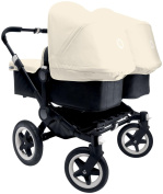 Bugaboo Donkey Complete Twin Stroller - Off White - Black/Black
