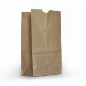 Brown Paper Lunch Bag (40 Bags) XL Heavy Lunch Bags, 60% Larger Than Standard Bags