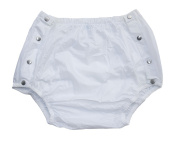 Haian Adult Incontinence Snap-on Plastic Pants Colour White