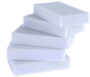 Generic Magic Cleaning Eraser Sponge Melamine Foam High Quality PACK OF 5