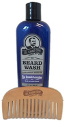 Colonel Conk Natural Beard Wash + Beard Comb