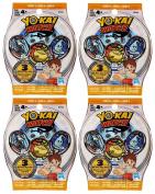 Yo-Kai Watch Series 4 Medals - 4 Blind Bags - 12 Random Medals Medallium