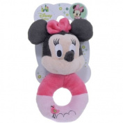 Minnie Mouse Pretty In Pink Rattle Anello