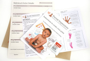 Inkless Hand And Foot Print Kit - For Larger Children / Adults