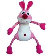 Spotty Pink Rabbit Spring Nursery Decoration