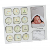 Baby First Year Collage Photo Frame Gift