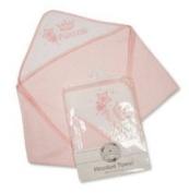 Hooded Baby Bath Towel - Soft Pink