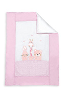 Interbaby Spring Style Cool Down Duvet Cover and Pillowcase Mod Basic Friendship Bracelet - Pink