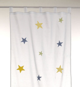 Kids curtain 'stars boys'