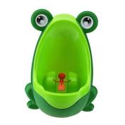 KOBWA Funny Frog Shape Potty Training Urinal for Boys