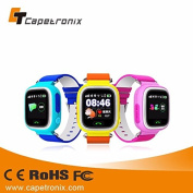Capetronix KC10 MTK2503 Kids GPS Smart Watch GPS+AGPS+LBS+WiFi Calling SOS Anti-Lost Monitor Location Finder Device with SIM Card Slot Children Watch for IOS Android APP Wristwatch for Kid Safe Baby Gift