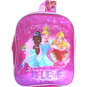 Disney Princesses Pink Dare to Believe School Travel Backpack Bag