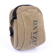 UDIY High Quality Canvas Multifunctional Waist Pack Money Belt Fanny Pack Bum Bag Runners Pack for Travelling Holidays