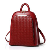 Women's New Simple Design Patent Leather Colourful Backpack Handbags