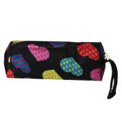 Cosmetic Bag, Lolittas Heart Square Multicolor Cosmetic Bag NY