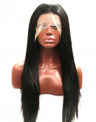 Kalyss Long Remy Straight Synthetic African American Women's Lace Front Wig For Women 60cm