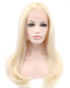Kalyss Long Curly Blonde Lace Front Hair Wig