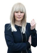 Prettyland C664 - smooth wig ombre style & Sleek Look longhair blond & platinblond