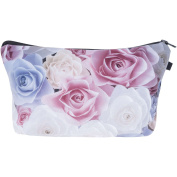 Pastel Roses Make Up Bag Cover Case Cosmetics School Pencil Case Hipster Design Instagram Emoji