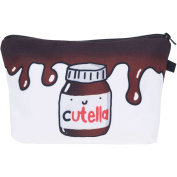 Cutella Melt Make Up Bag Cover Case Cosmetics School Pencil Case Hipster Design Instagram Emoji