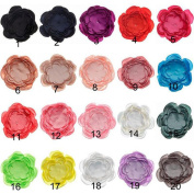 CINEEN 10Pcs Hair Band Accessories 20 Colours Clothing Accessories Headdress Hair Clips for Children Kids Girls Hair Accessories