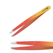 Xanitalia Tweezers Tweezer Slanted Orange Professional