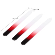 Anself 3Pcs Glass Nail File Bit Crystal Nail Sanding Buffing Tool 3 Sizes