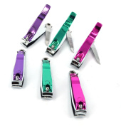 Icy Rainbow Adult Nail Cutter Stainless Steel Toenails Fingernails Nail File Clipper Fingers Manicure Trimmer Tool