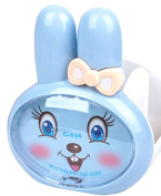 Rabbit Design Pen Stand With Photo Frame (Blue)- Perfect Gift