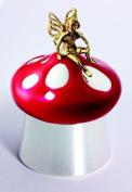Silver & Enamel Tooth Fairy Keepsake Box Jar