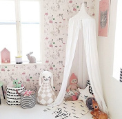 NEW Pericross® Bed Canopy for Baby Kids Reading Play Tents Cotton Linen Height 220cm