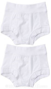 Oops! Undies Waterproof Bamboo Underwear White Training Pants 2 Pack