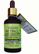 DELUGE Retinol Serum Advanced Formula With Vitamin C, Hyaluronic Acid, COQ10, Antioxidant Blend